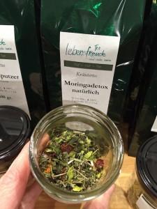 Kräutertee Moringa Detox Donauwörth offener Tee