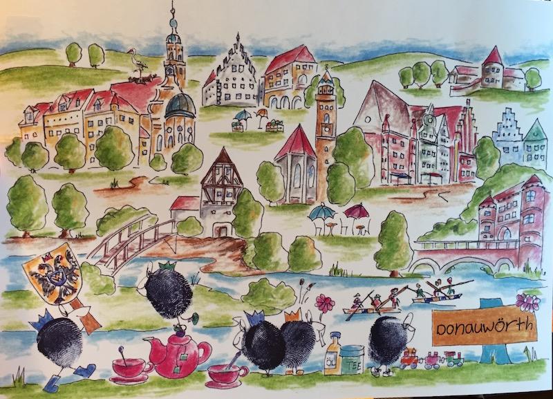 Donauwörth Mitbringsel und Geschenkideen bei Lebensfreude