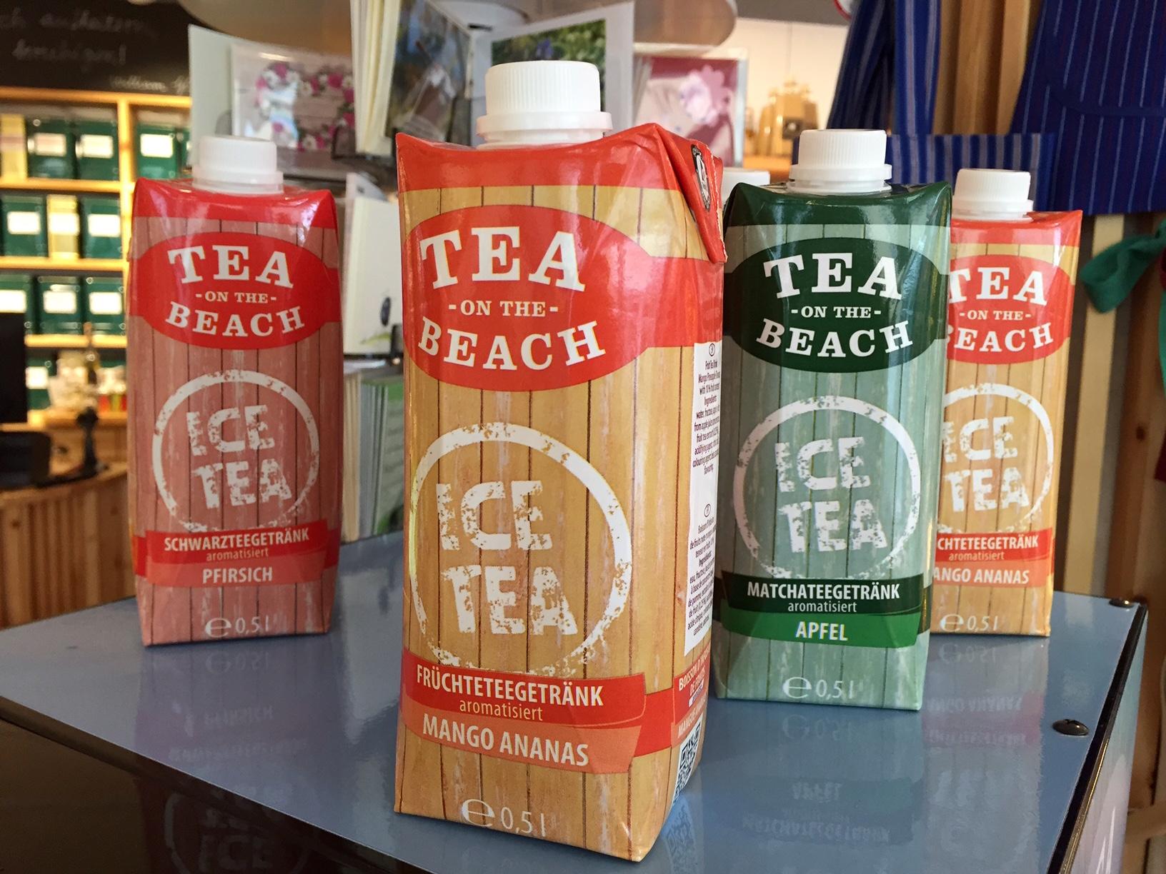 """Eistee to-go – und """"to stay"""" in unserer neuen Tee-Ecke"""