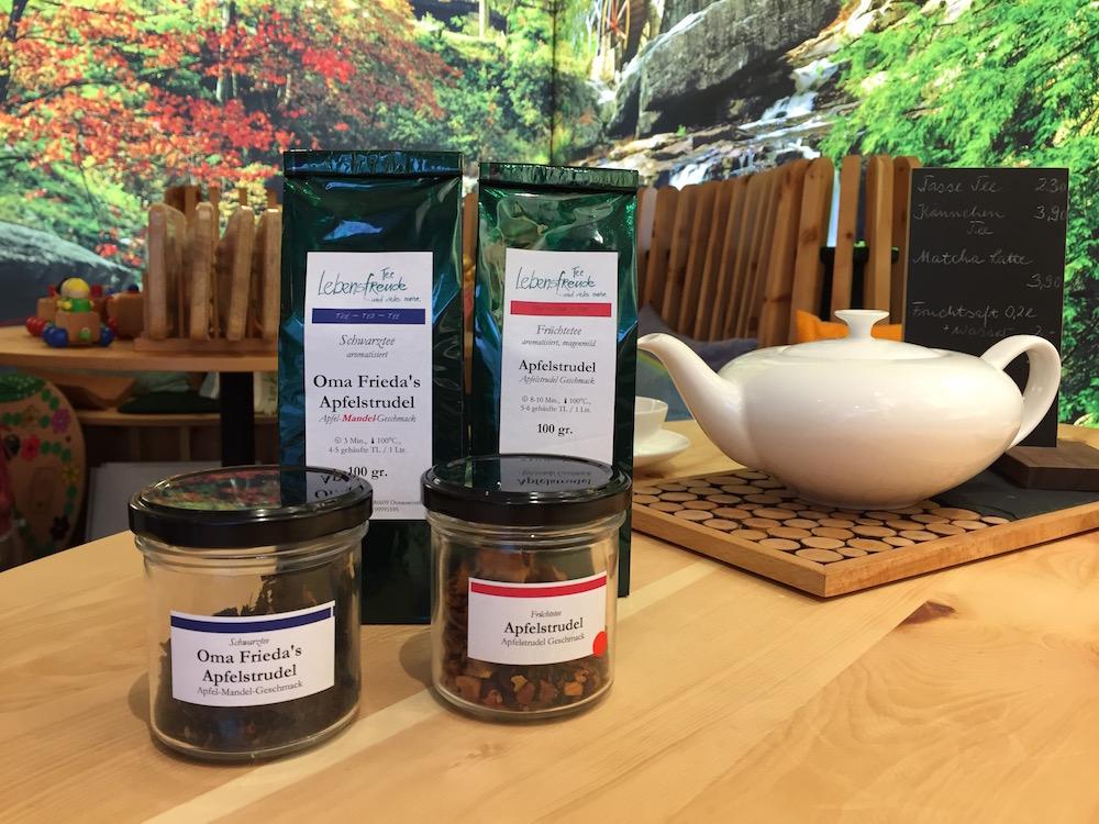 Tee des Monats Oktober: zweierlei Apfelstrudel