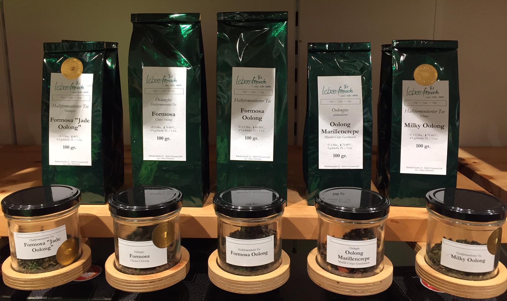 Oolong Marillencrepe: unser Tee des Monats im Januar