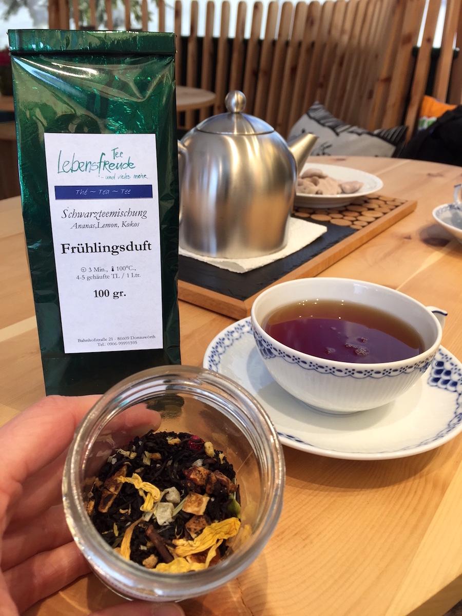 Unser Tee des Monats im Februar: Schwarzteemischung Frühlingsduft